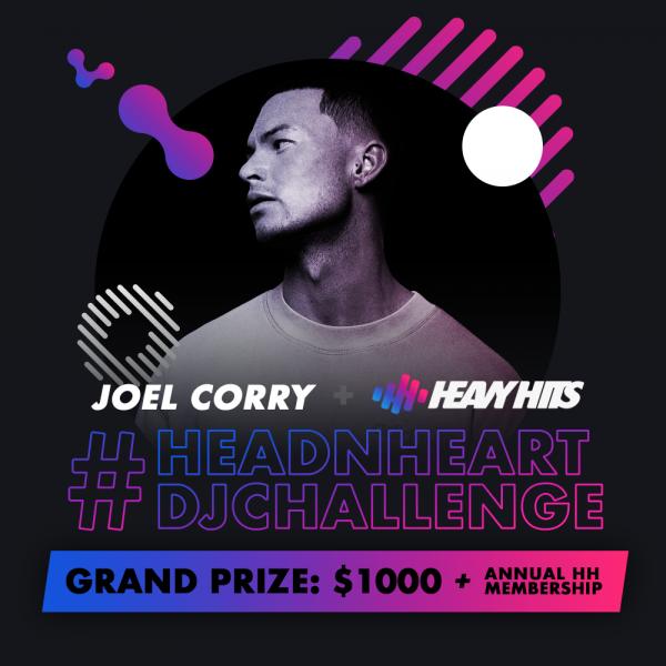 Joel Corry x Heavy Hits #HEADNHEARTDJCHALLENGE